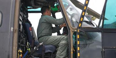 Kisah menegangkan helikopter TNI yang ditembaki di Papua