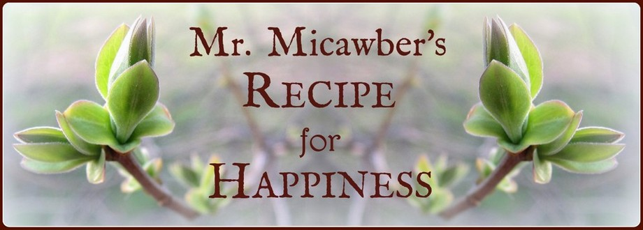 Mr. Micawber&#39;s Recipe for Happiness