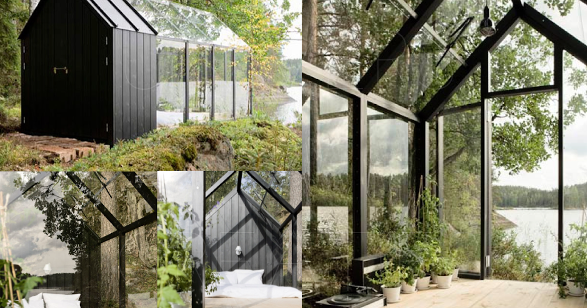 Univers creatifs en finlande la cabane de jardin modulable for Cabane de jardin chic