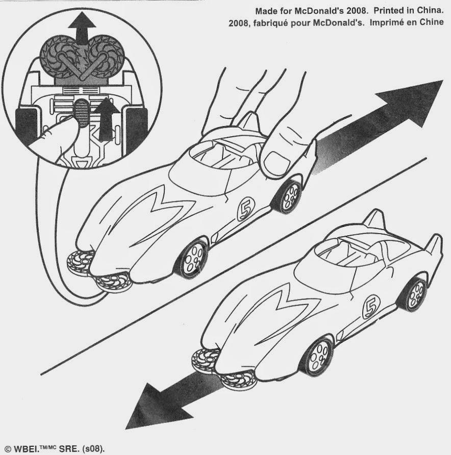 toys and stuff mcdonald u0027s 2008 u0027speed racer u0027 movie cars no 1