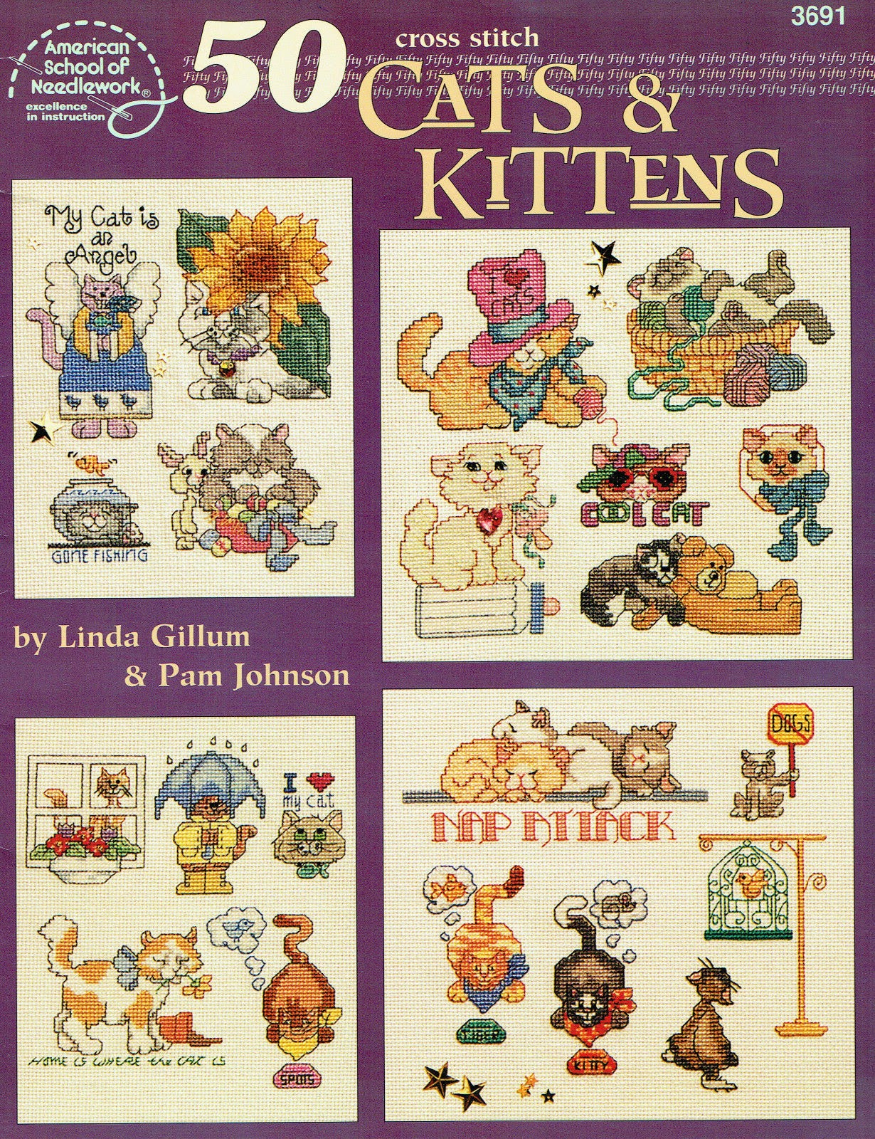 http://www.ebay.com/itm/Cross-stitch-Pattern-Book-50-Cats-and-Kittens-Linda-Gillum-Pam-Johnson-/321688825867?pt=LH_DefaultDomain_0&hash=item4ae625f00b