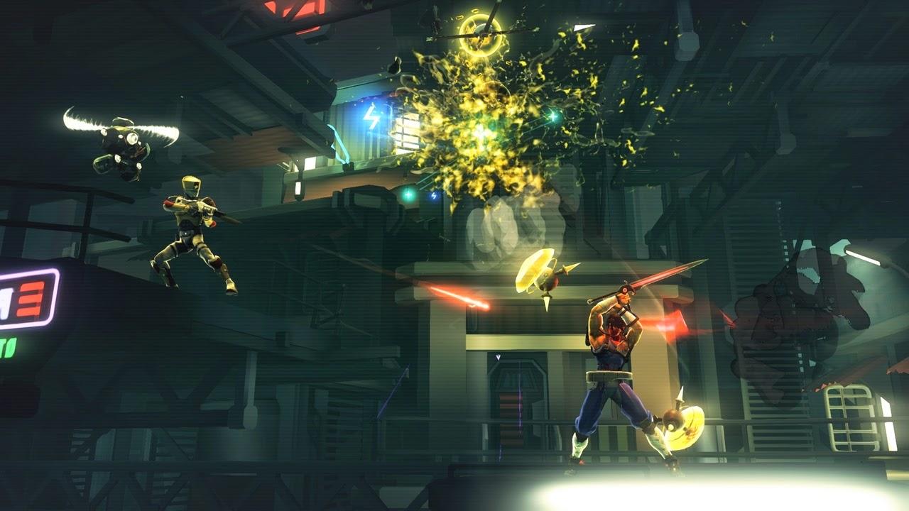 Strider game screenshots