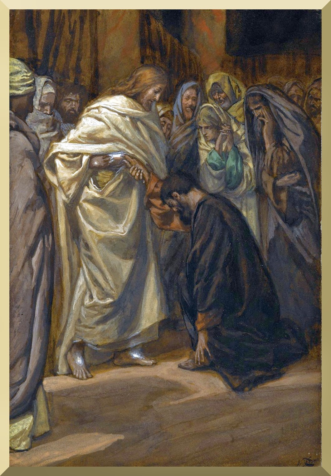 """The Disbelief of Saint Thomas"" -- by James Tissot"