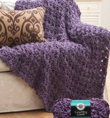 Lady Annes Cottage Crochet Cluster Afghan Pattern