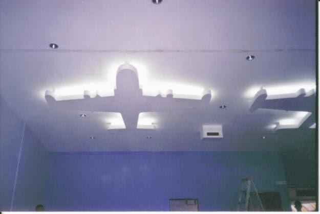 Decoracion y dise os de cornisas decoraciones y dise os - Cornisas para luz indirecta ...
