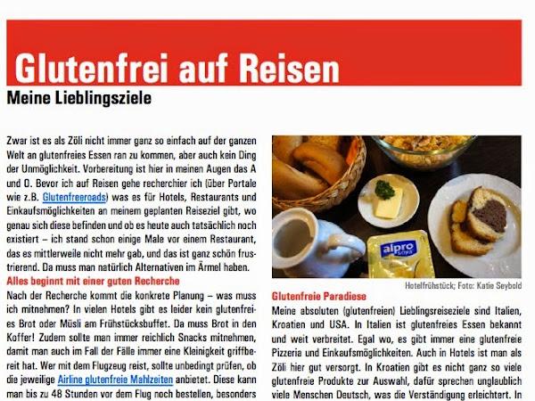 'Ein glutenfreier Blog' im aktuellen DZG Jugendmagazin