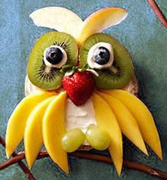 Ideias de frutas para o Natal