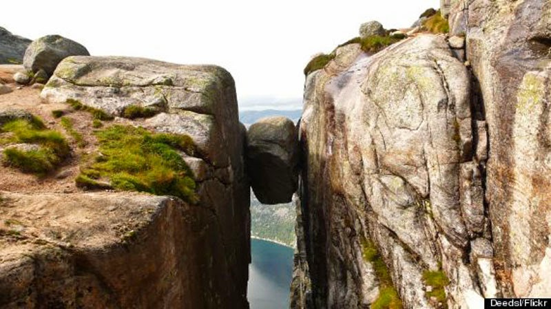 4. And so is Kjeragbolten - 10 Reasons Norway is the Greatest Place on Earth
