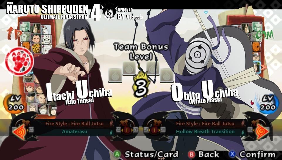 Naruto Shippuden: Ultimate Ninja Impact Final Mod Pack Texture
