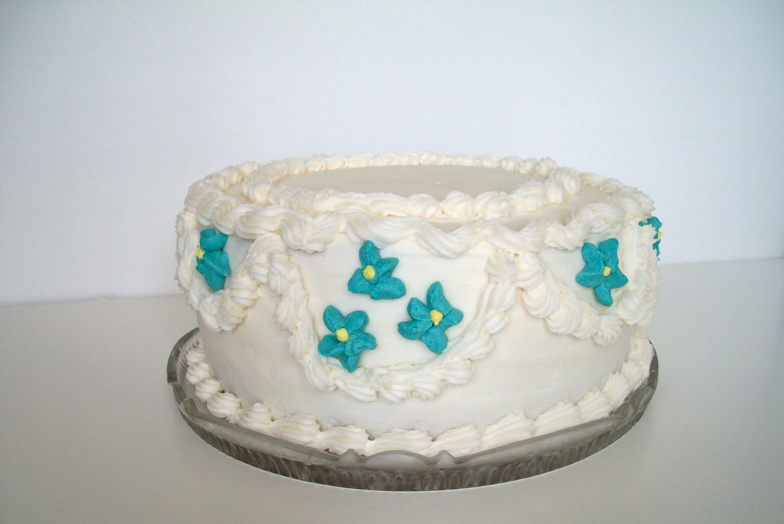 Brooke Bakes : 25th Wedding Anniversary Cake