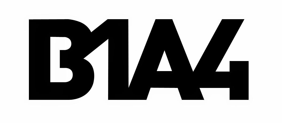 B1A4 logo font / typeface | ☼ kpopfonts.com