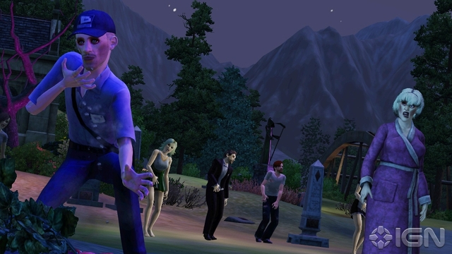 The Sims 3 Supernatural (2012) FLT pic 1 download pc game