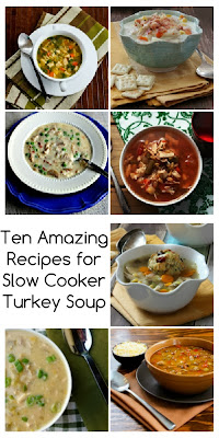 Ten Amazing Recipes for Slow Cooker Turkey Soup
