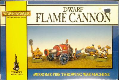 Dwarf Flame Cannon for Warhammer Fantasy Battle