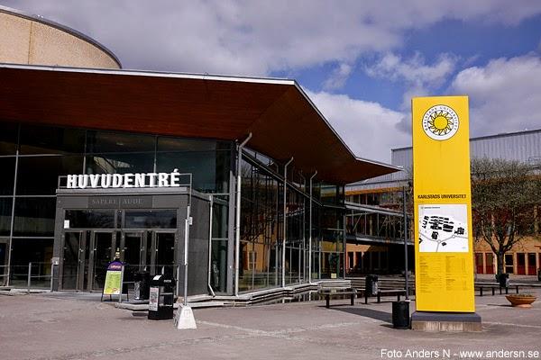 Karlstad universitet, Karlstads, universitetet, huvudentrén, entrén, huvudentré