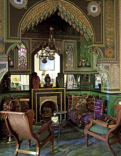 Eye for design moroccan interiors bill willis style for Salon paris marrakech