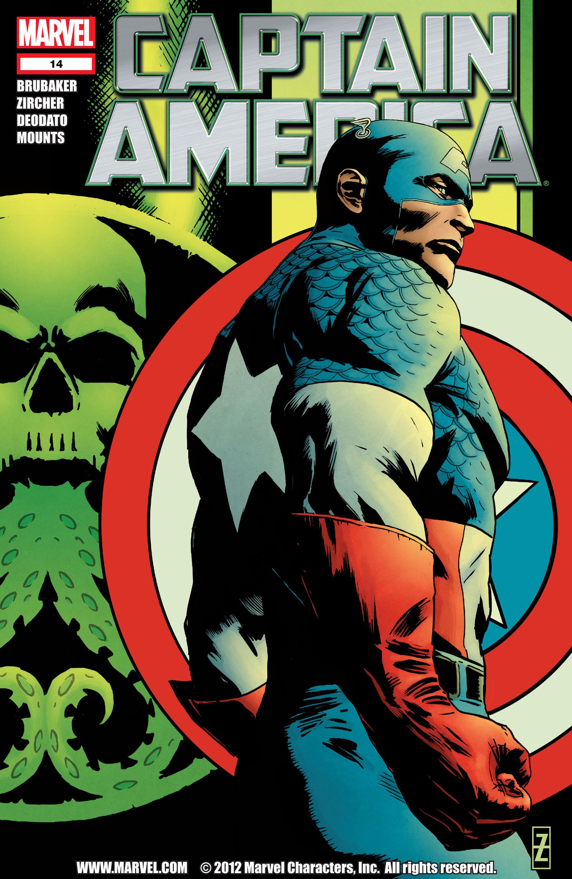 Captain America (2011) Issue #14 #14 - English 1