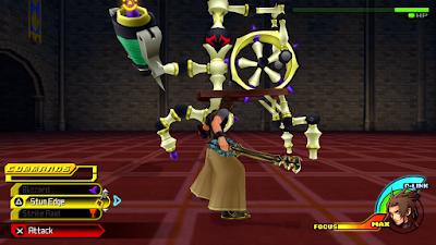 Kingdom Hearts Birth By Sleep Spinning Wheel Boss
