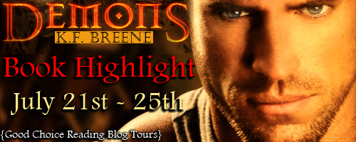 {Excerpt+Giveaway} Demons by K.F. Breene