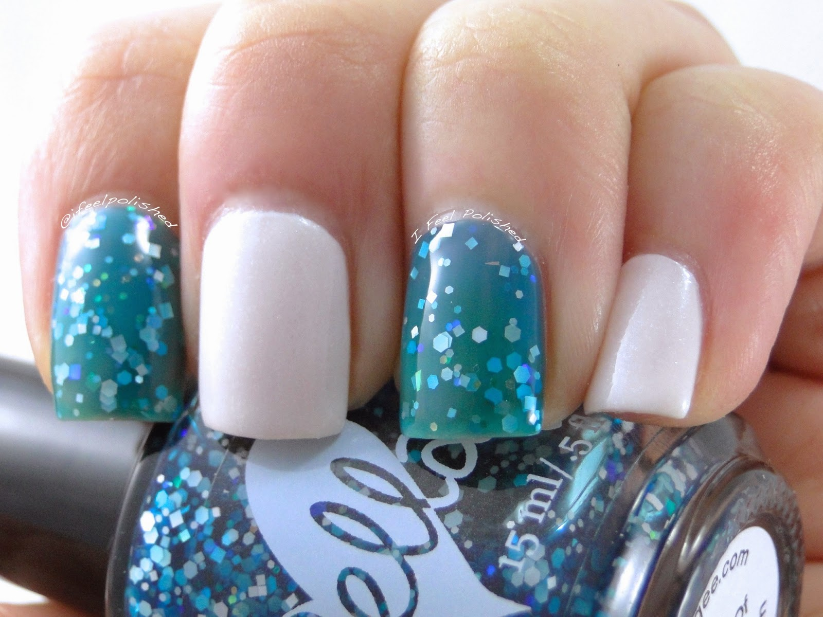 ellagee Blue-Eyed Girl Lacquer Duo