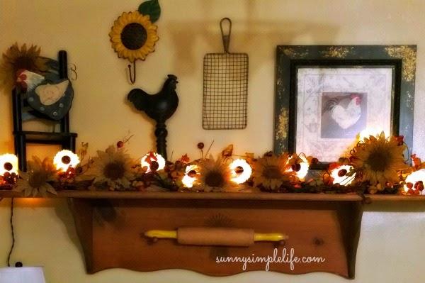 September Decorating Ideas sunny simple life: september 2014