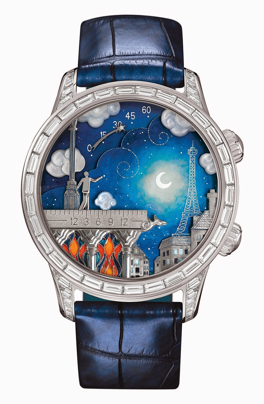 24 Of The Most Creative Watches Ever - Hand-Painted Poetic Wish Watch