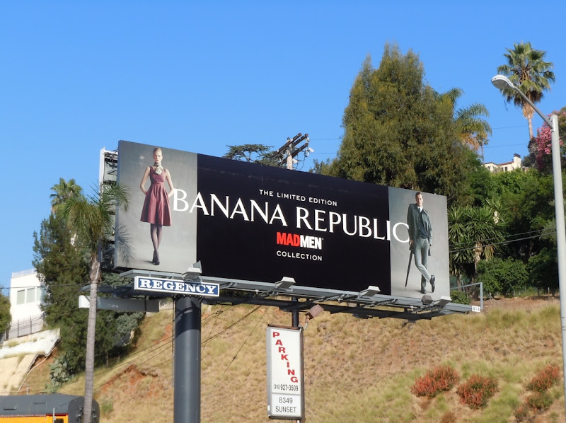 Banana Republic Mad Men Collection 11 ad