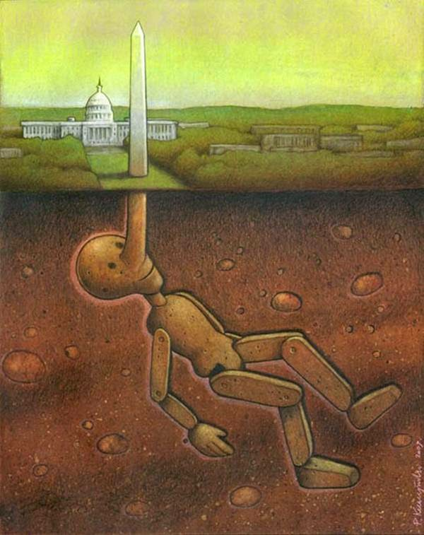 Stunning Satirical Illustration by Paul Kuczynski