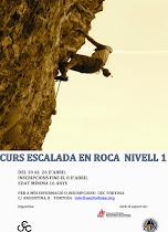 Curs escalada en roca - nivell 1