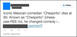 Campaña-maliciosa-utiliza-muerte-Chespirito-gancho- infección