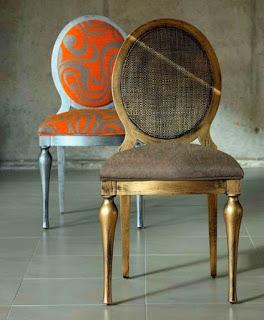 Marzua reinterpretaciones de las sillas estilo luis xvi - Sillas estilo luis xvi ...