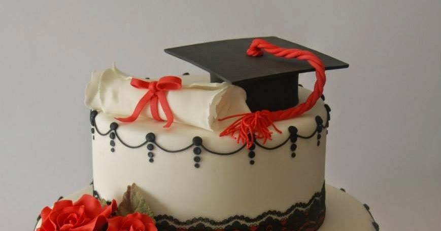 Le torte di rosy lai torta laurea tocco pergamena pizzo