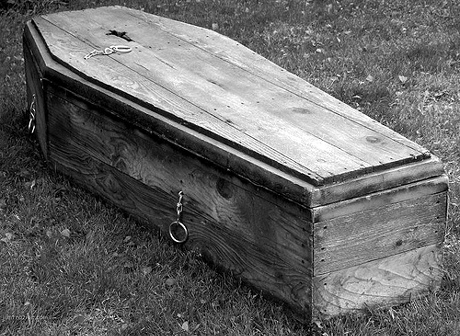 Old Coffins and Caskets