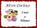 Winner of Challenge 211 with teacup card on 22nd June 2013