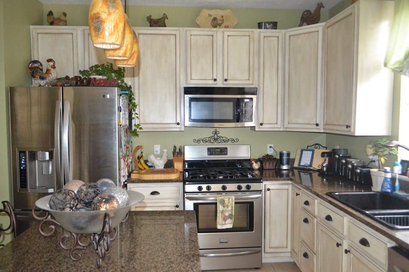 Used Kitchen Cabinets Denver White Glazed Cabinet Transformations A Review A Year Later