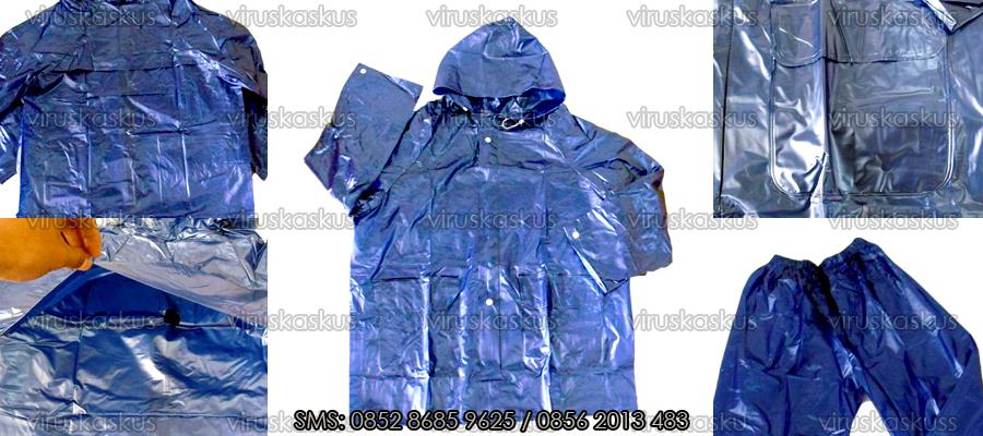 ORIGINAL [ Recommended ] Jas Hujan Anak, Ponco, Stelan, Double Head, Jubah Impor