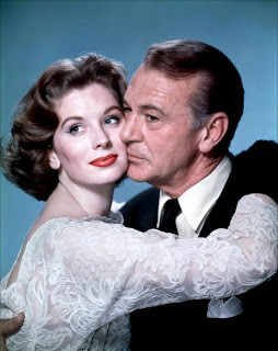 "Suzy Parker and Gary Cooper are involved in a tender May-December romance in ""Ten North Frederick"""