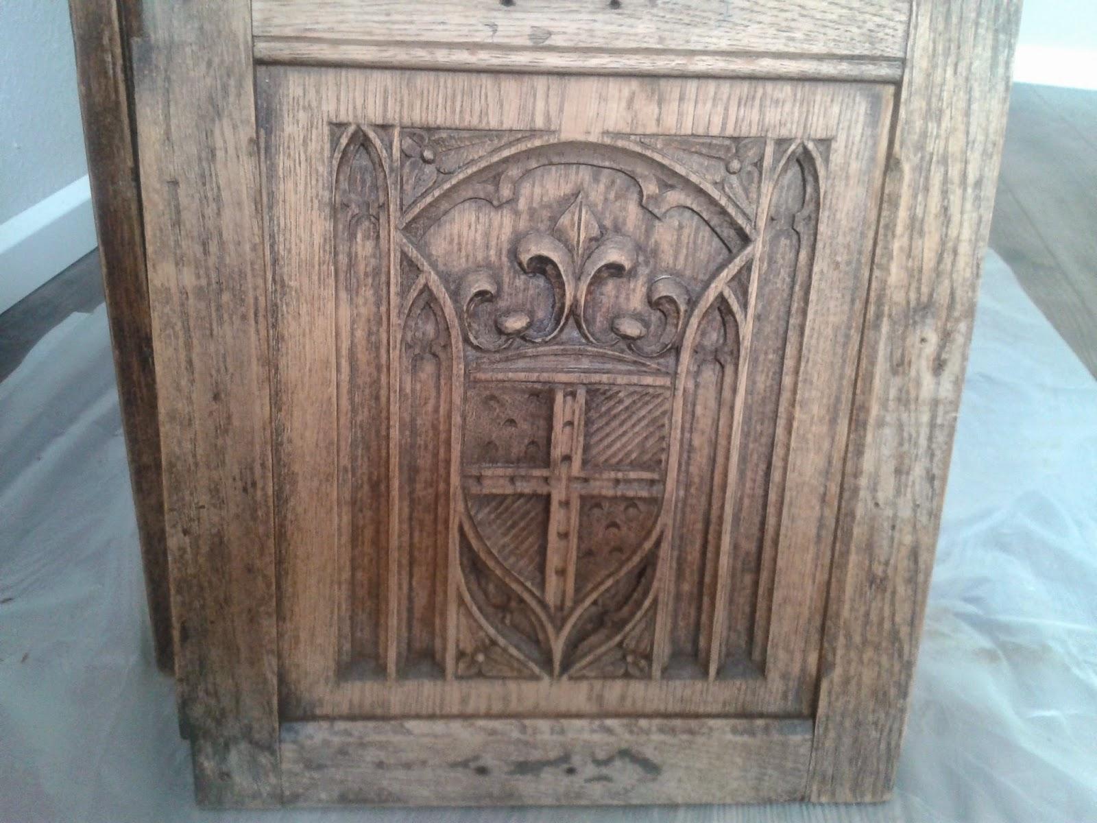 Oud Grenen Kast Verven  Brocante kasten opknappen  voorbeelden  tweedehands meubels  Anitas