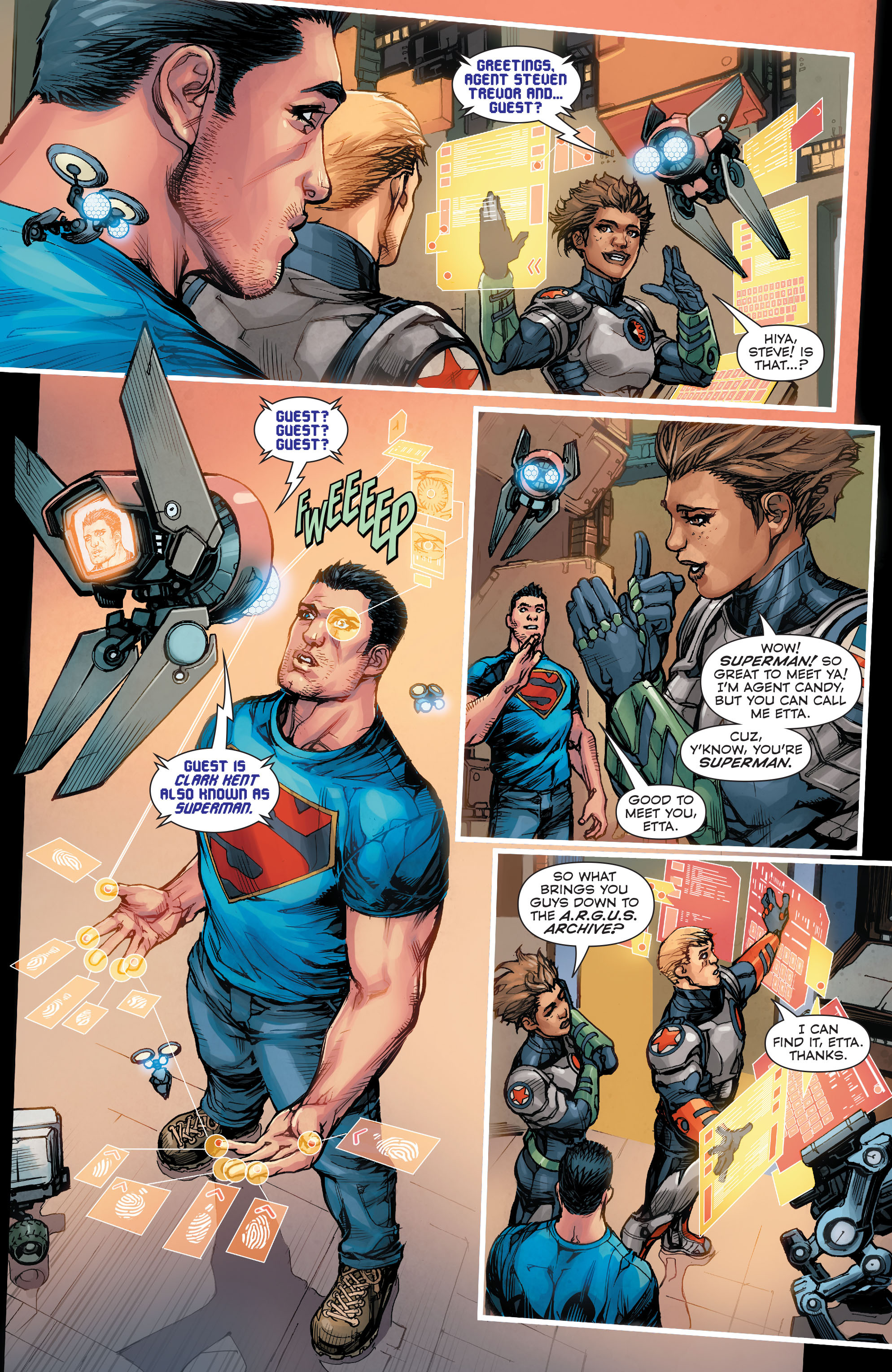 Read online Superman (2011) comic -  Issue #48 - 16