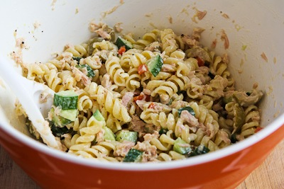 ... Kitchen®: Tuna Pasta Salad with Lemon, Green Olives, and Cucumbers
