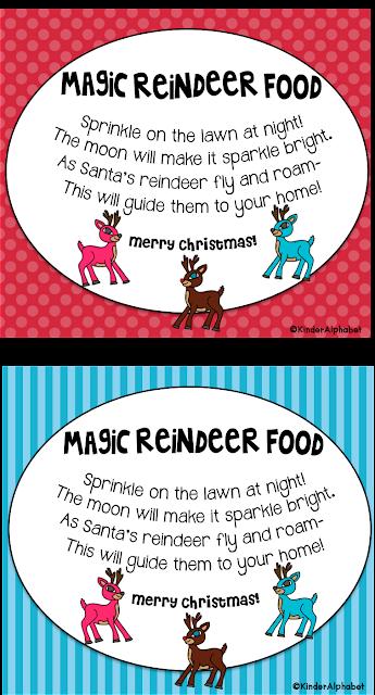 Freebielicious: Magic Reindeer Food Freebie