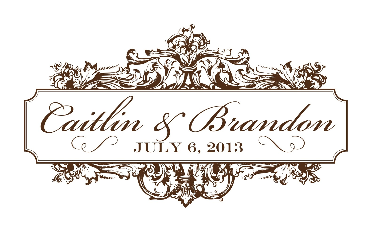 Logo maker wedding