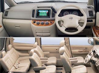 Interior Harga mobil nissan serena