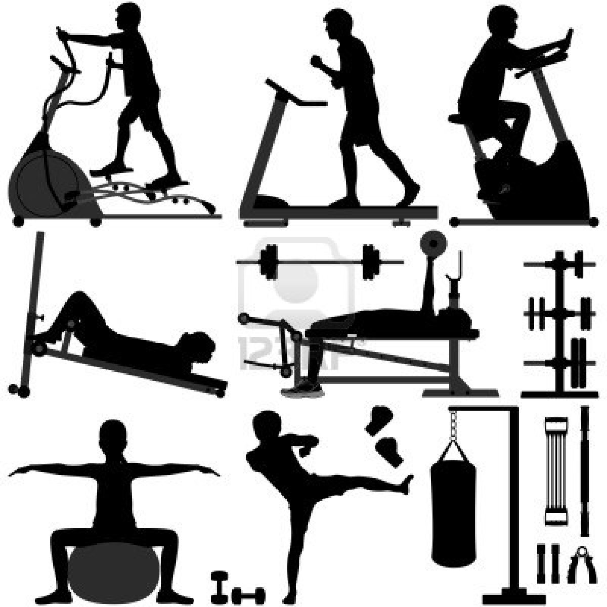 Exercise equipment you can use sitting down