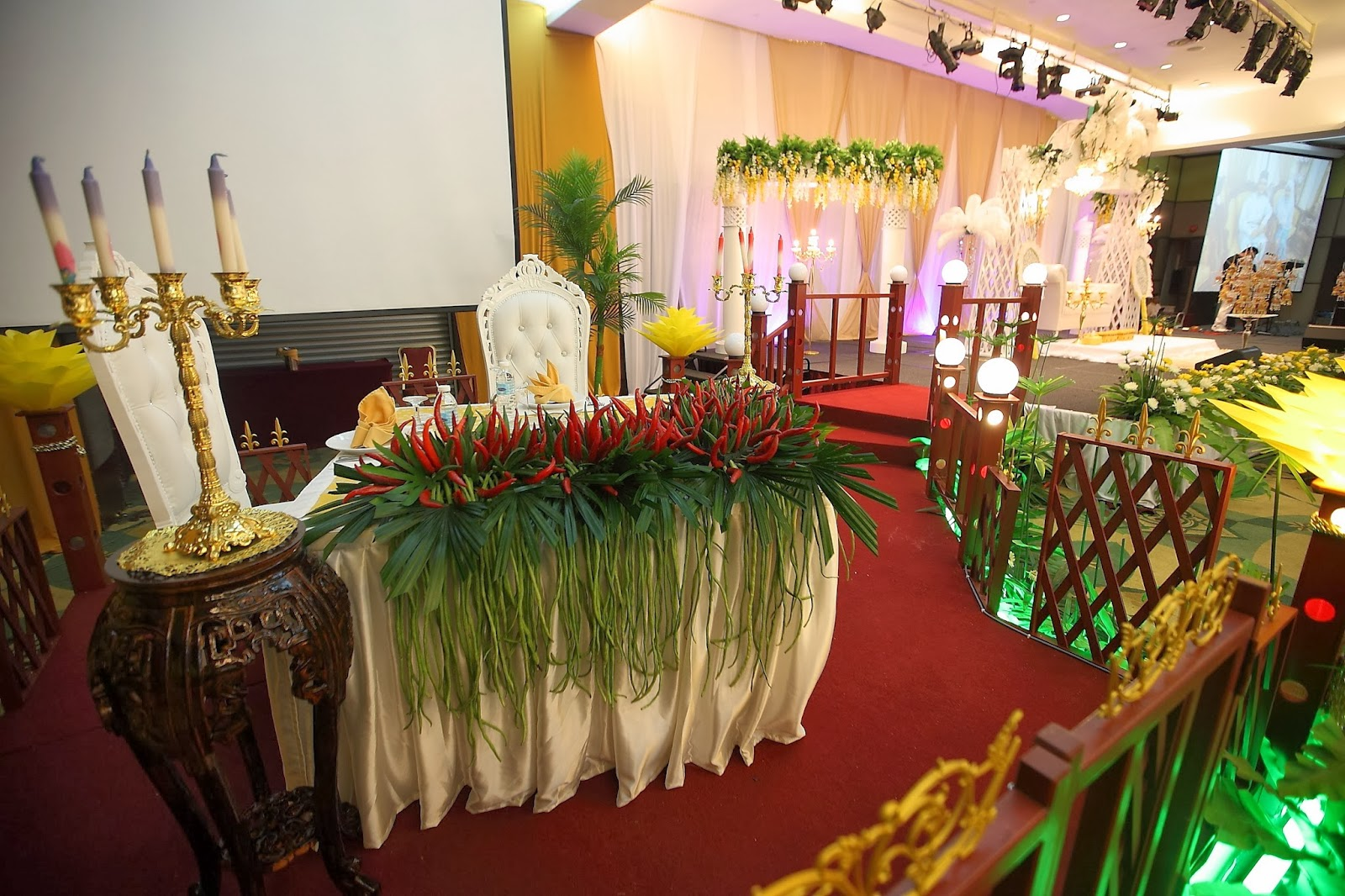 wedding-reception-vegetables-decoration