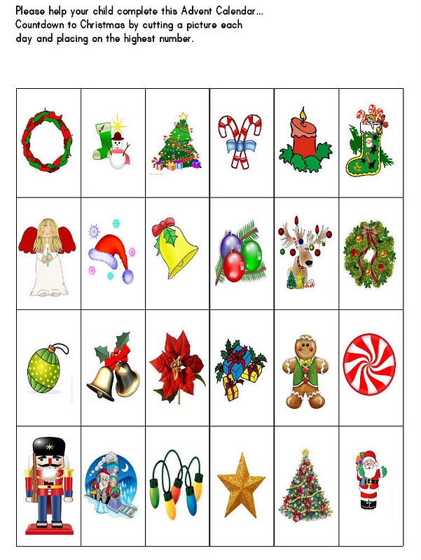 Advent Calendar Preschool : Quot the kids place home daycare and preschool christmas