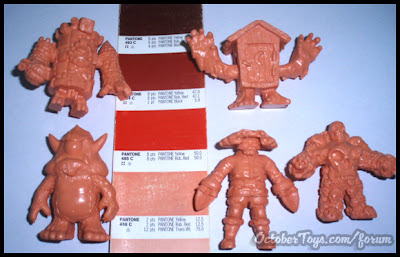 OMFG! Mini Figure Series 1 Kickstarter Exclusive Flesh Set by October Toys