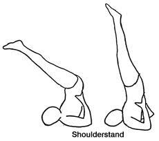 Shoulder Stand Yoga Poses