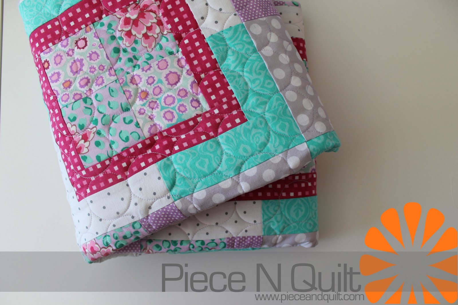 chic baby by pattern quilts patchwork girls quilt ruffle girl christinejdesigns pin