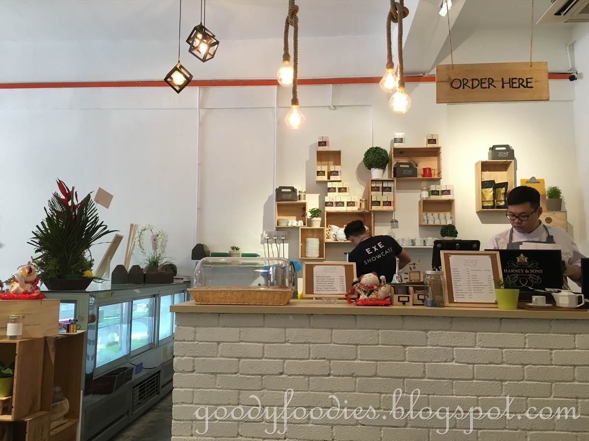 Their menu consists of 12 different cakes, all beautifully crafted. We were  told that they make the cakes on the premises daily using Elle \u0026 Vire  butter and